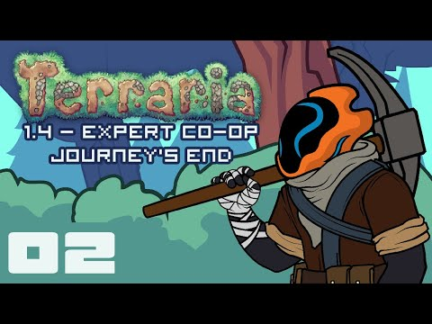Hello Nurse... Goodbye Nurse! - Let's Play Terraria 1.4: Journey's End - PC Gameplay Part 2