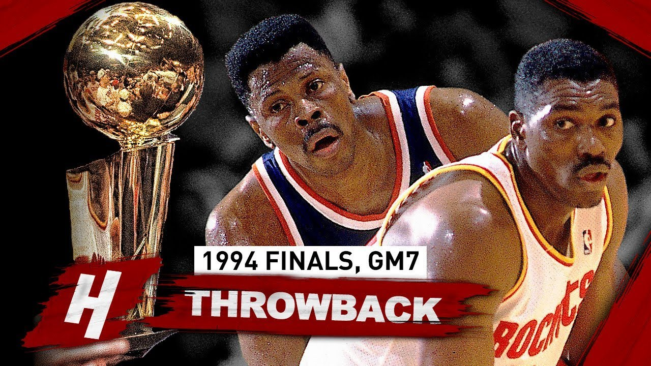 Image result for Patrick Ewing loses to Houston