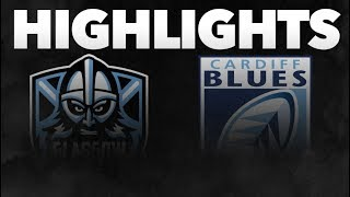 Guinness PRO14 Round 3: Glasgow Warriors v Cardiff Blues Highlights