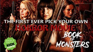BOOK OF MONSTERS Concept Trailer (2017) Kickstarter Horror Movie