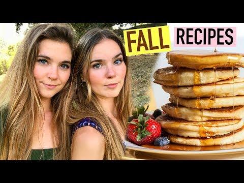 HEALTHY & VEGAN FALL RECIPES  - Pancakes, Pumpkin Risotto, & More!