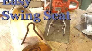 How-to Make A Log Swing Seat