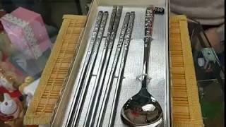 корейские металлические палочки