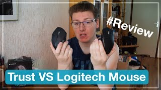 Trust VS Logitech Mouse