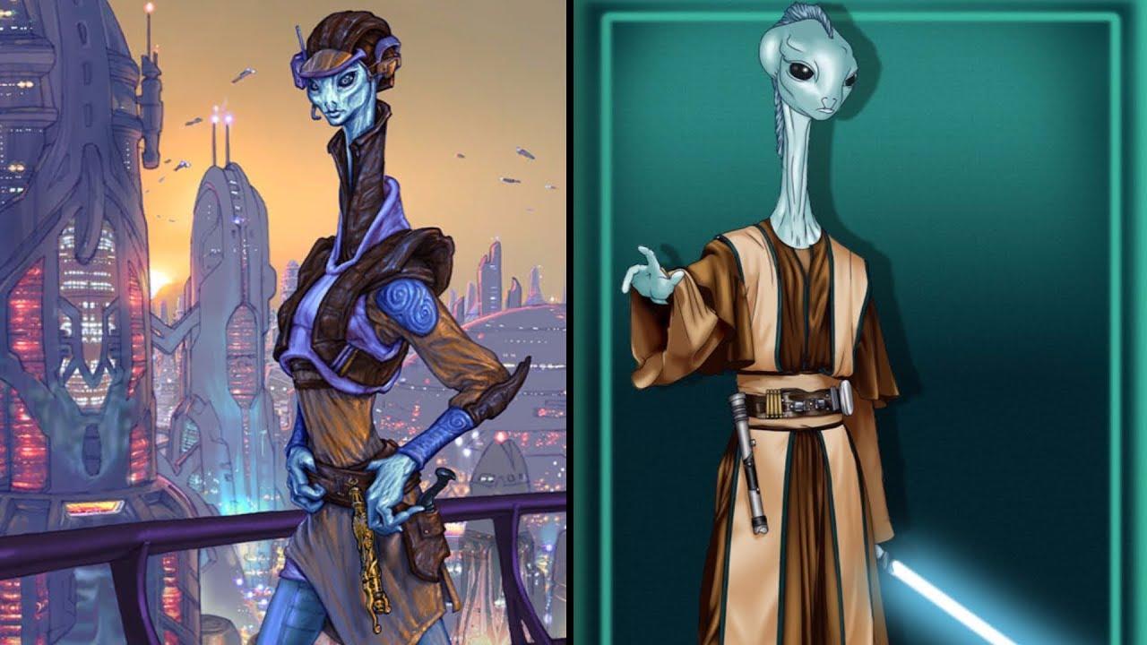 The Kaminoan Jedi - Kina Ha [Legends] - YouTube