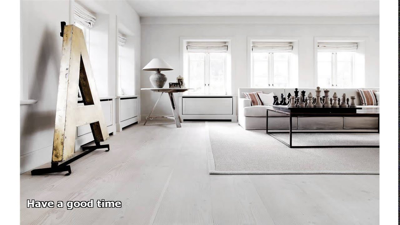 White wood floors youtube