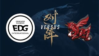 EDG vs. AHQ | Group Stage Day 1 | 2017 World Championship | Edward Gaming vs ahq e-Sports Club