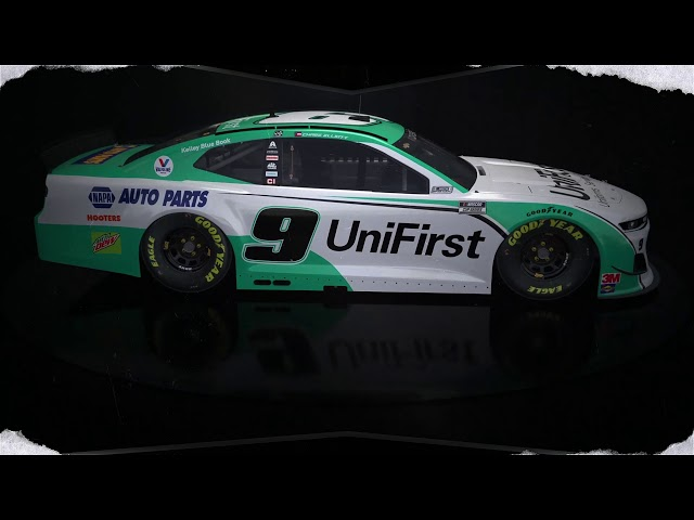 No. 9 UniFirst Chevrolet Paint Scheme for NASCAR's All-Star race at the Bristol Speedway
