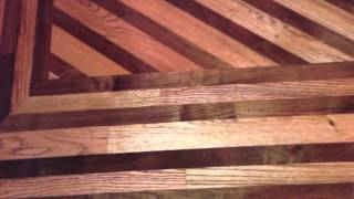 Wood Floors, Borders And Designs