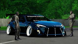 Lfs Toyota GT86 RocketBunny (Batman Edition)