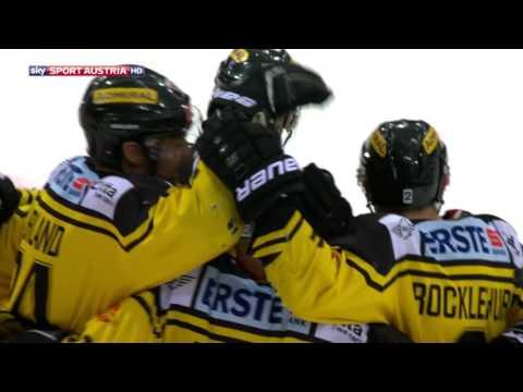 Erste Bank Eishockey Liga 16/17, 1. Halbfinale: Vienna Capitals - HC Bozen 4:2