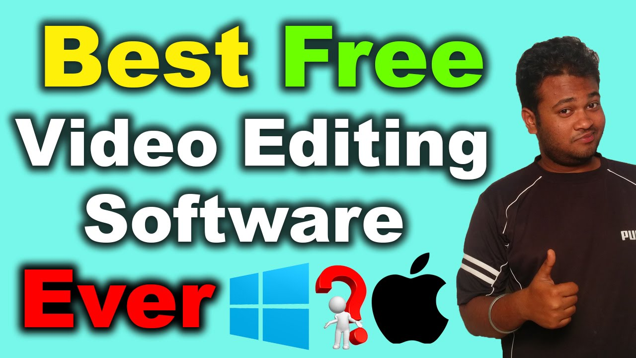 Best Free Video Editing Software Ever 2016 Hindi Youtube