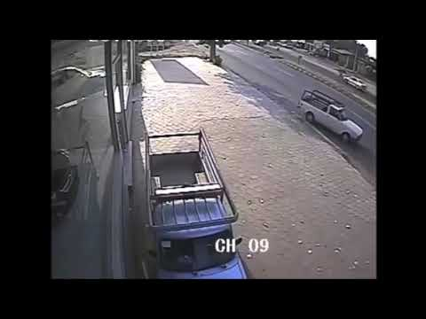 OMG BRUTALLY BIKE CRASH CAPTURE IN CCTV CAM /PAKISTAN MOTORWAY