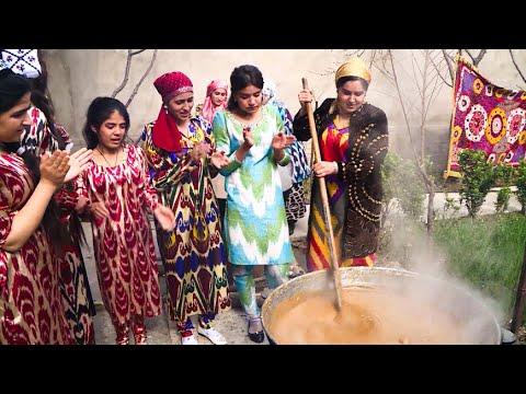 Уборка в доме и суманак: жители Таджикистана готовятся к Наврузу