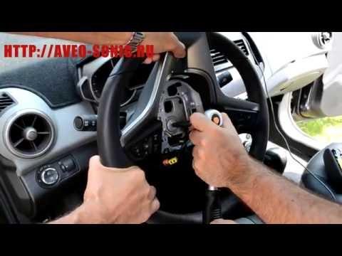 Установка руля от Chevrolet Sonic RS