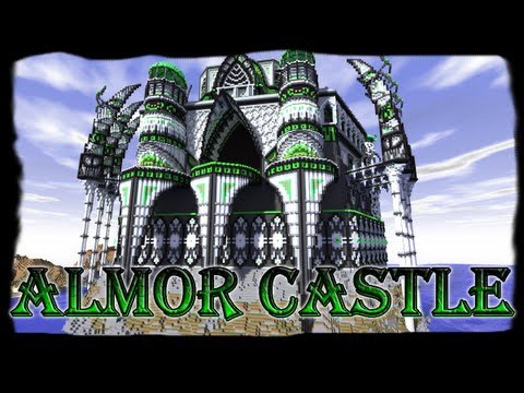 minecraft almor castle with schematic and download. Black Bedroom Furniture Sets. Home Design Ideas