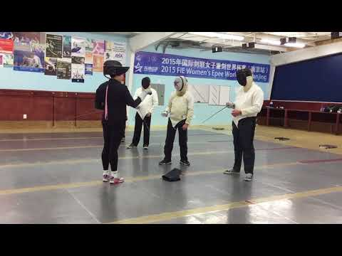 Fencing - Houston, Texas - Alliance Fencing Academy (Attack)