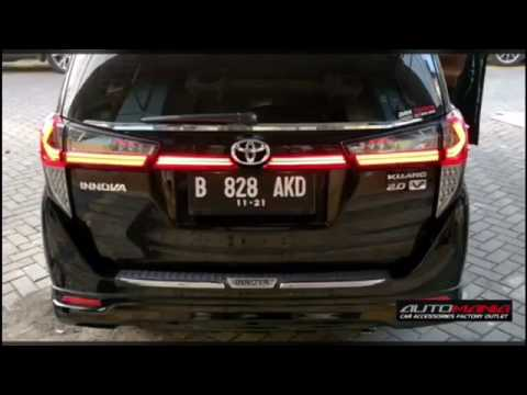 Jual Aksesoris All New Kijang Innova 2016 Ukuran Wiper Grand Avanza 2015 Tail Lamp Light Bar Lexus Style Reborn Youtube