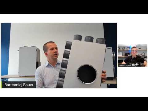 Skrzynki rozdzielcze i rozprężne VENT CLEAR produkcji Spiroflex