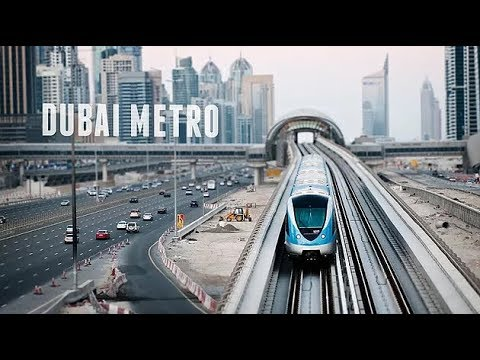 Amazing Dubai Metro Experience - Full HD