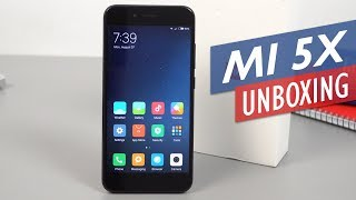 Xiaomi Mi 5X / Mi A1 Unboxing And Hands-On Review (English)