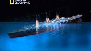 Как тонул Титаник. Реконструкция(Из фильма