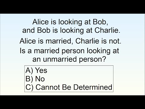 Can You Solve The Marriage Logic Problem? 80% Fail