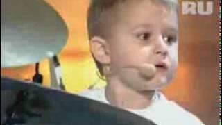 Russian Got Talent. Ilya Svetlichny. 3 years