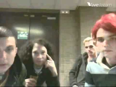 Live streamed chat w/ My Chemical Romance