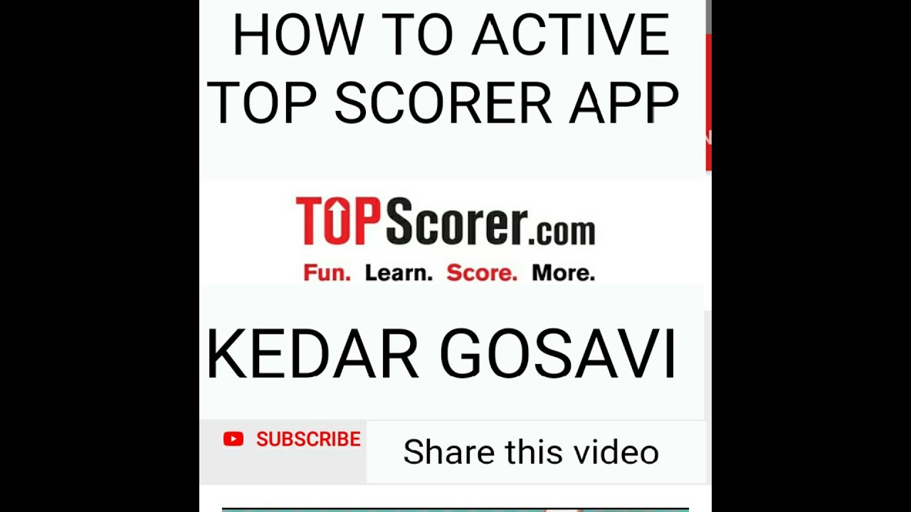 Top Score App Open With Promocode In Mobile Mseb Cbse Gseb Ncert Smart Study With Topscorer In Youtube