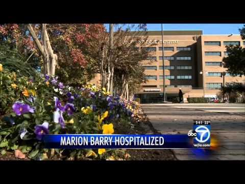 Former D.C. Mayor Marion Barry hospitalized