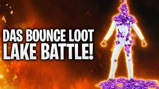 1VS1 BOUNCE LOOT LAKE BATTLE avec SKIN SALE! 🔥 Fortnite: Bataille Royale