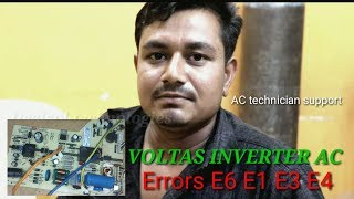 Download How To Solutions Voltas Inverter Ac Errors Codes E6