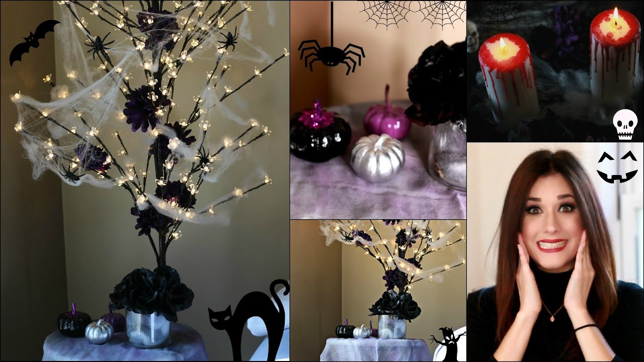DIY DECORACION PARA HALLOWEEN  HALLOWEEN DECORATION - YouTube