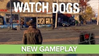 Watch Dogs Gameplay: Open World Gameplay, Hacking, Driving, Multiplayer