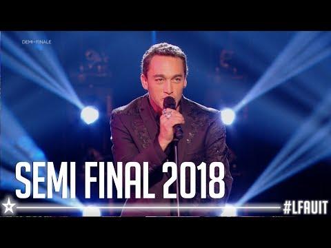 Jean-Baptiste Guegan     Semi final   France's got talent 2018