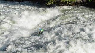 Video Tumwater Solitude: Sam Grafton Kayaks Wenatchee River Class V and V+ download MP3, 3GP, MP4, WEBM, AVI, FLV Januari 2018