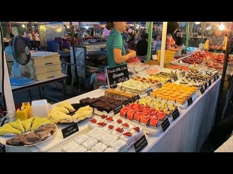 Fresh Milk Cakes – Thai Desserts - Thailand Street Food