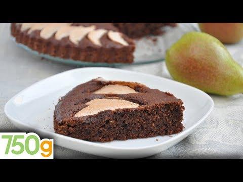 recette-de-gâteau-poires-&-chocolat---750-grammes