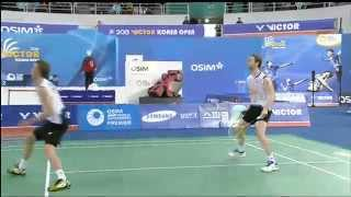 F - MD - M. Boe / C. Mogensen vs Ko S.H. / Lee Y.D. - 2013 Victor Korea Open