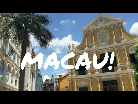 MACAU - TOP THINGS TO SEE -Travel Vlog
