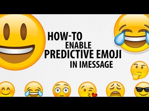 How To Enable Predictive Emoji In IMessage