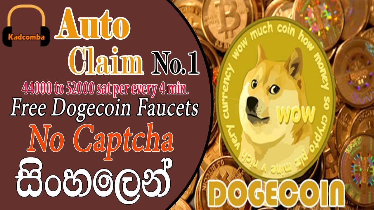 Auto Claim Doge Faucets - Part 01 + Doge miner 4th Withdrawal review ...