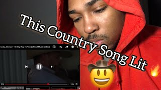 Cody Johnson - On My Way To You (Official Music Video) - Reaction