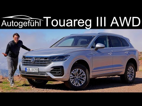 Volkswagen Touareg 3 offroad vs onroad FULL REVIEW 2019 VW Touareg III - Autogefühl
