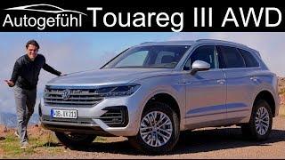 Volkswagen Touareg 3 offroad vs onroad FULL REVIEW 2019 VW Touareg III - Autogefühl