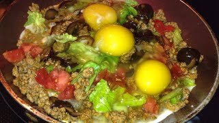 """How To Cook """"taco Eggs"""" Breakfast For Champs! Quick And Easy"""