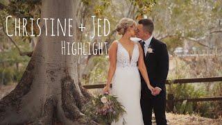 Christine & Jed: Wedding Highlight