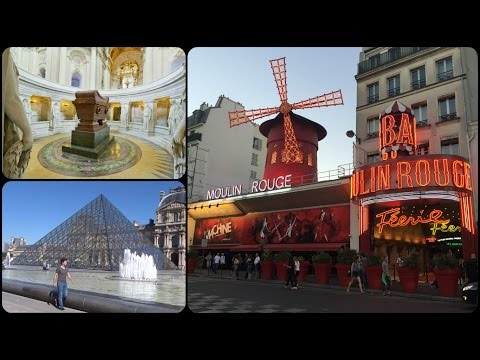 Paris Vlog / Day 2 / Inside Moulin Rouge,Tomb Of Napoleon & The Louvre