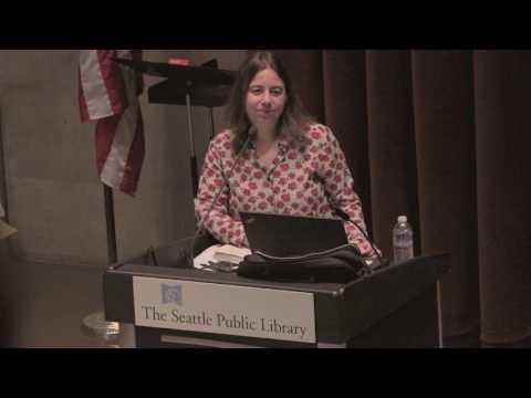 Sarah Schulman with Mattilda Bernstein Sycamore at Seattle Public Library